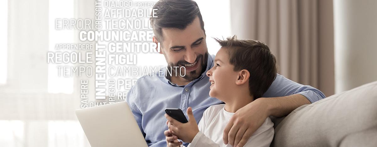 Psicologia genitori figli tecnologie